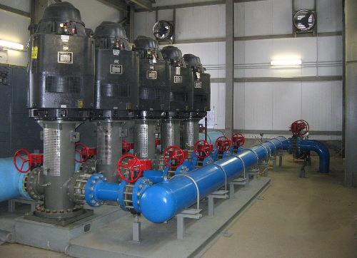 High Pressure Pumping Station