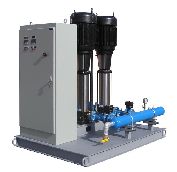 Prefabricated modular pumping system