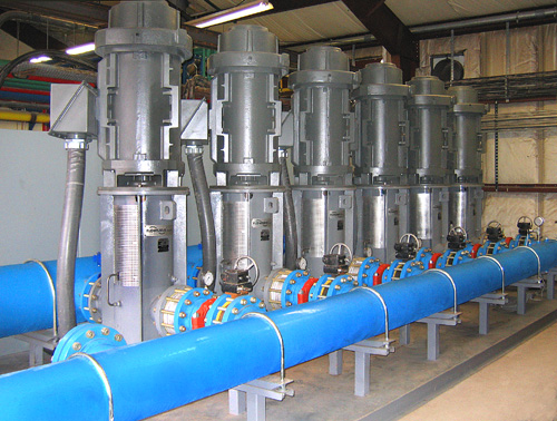 Prefabricated modular pumping system