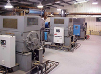 Cooling towers and controls for compressor cooling