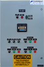 PLC panel for the main pump station