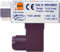 KPH Compact Pressure Switch
